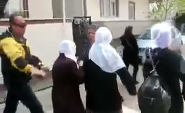 Polisten utanç veren saldırı
