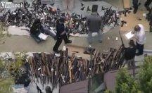 Bir evden binden fazla silah çıktı