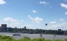 Helikopterin Düşme Anı Kameraya Yansıdı