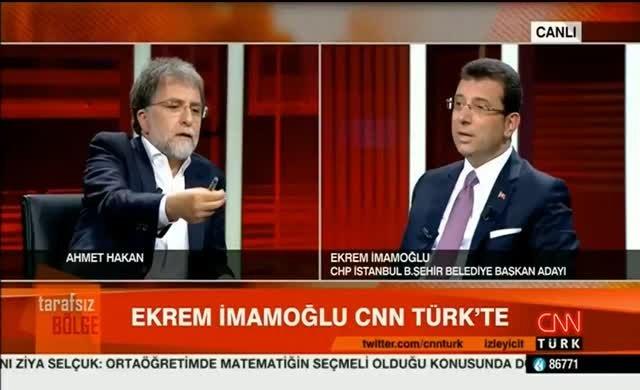 İmamoğlu'ndan Ahmet Hakan'a: O sözleri savunma, bu konuyu da kapat