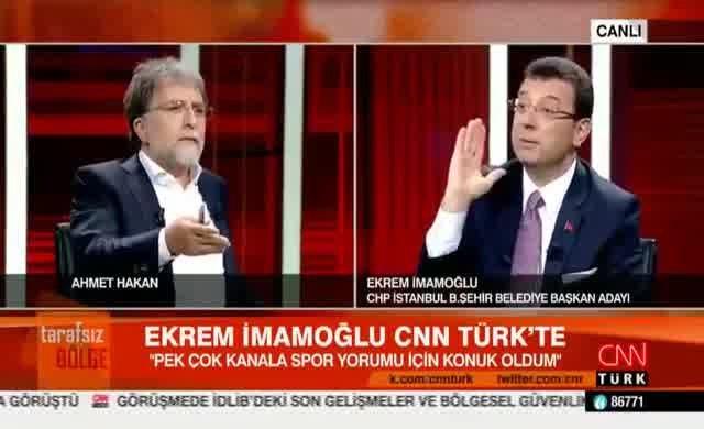 Ahmet Hakan AKP'li başkanı savunmaya kalkınca