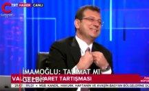 Ekrem İmamoğlu TRT yayınında TRT'yi böyle eleştirdi