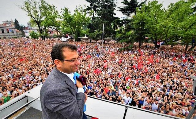 İstanbul'un yeni başkanı İmamoğlu'ndan ilk sözler...