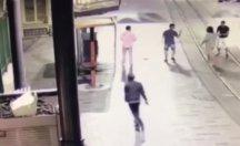 Taksim'deki cinayetin görüntüleri çıktı