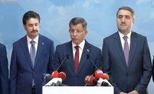 Davutoğlu canlı yayında istifa etti