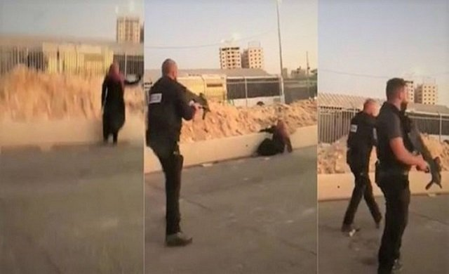 İsrail askeri, Filistinli kadını vurdu!