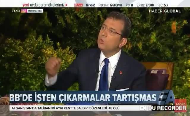 İmamoğlu'ndan AKP'ye KHK hatırlatması