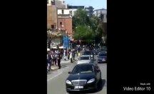 Erdoğan'ın Cuma namazı konvoyu yine olay oldu