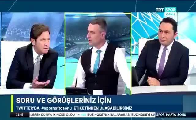 TRT'de yorumcu skandalı