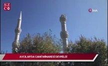 İstanbul depreminde panik anları!