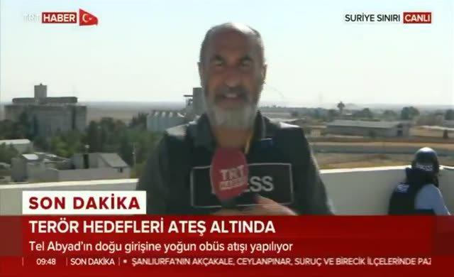 A Haber muhabirinin foyası canlı yayında ortaya çıktı