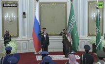 Suudi bandosunun çaldığı Rus milli marşı olay oldu