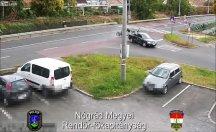 Kaza anları kameralara yansıdı