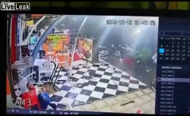 Sarhoş sürücünün yaptığına bak!