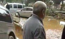 Sel mağduru vatandaşın isyanı...