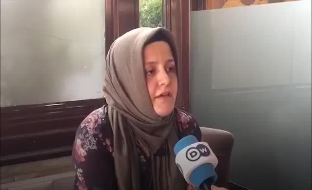 Eşi, Mustafa Yılmaz ile görüştü