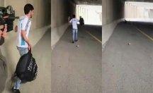 İsrail polisi, Filistinli genci plastik mermi ile böyle vurdu!