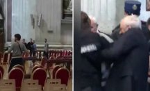 Vatikan'da heyecanlı dakikalar