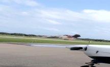 ABD'de gösteri uçağı düştü: 1 ölü