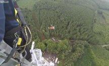 2 tonluk anteni helikopter ile yerleştirmek nefesleri kesti