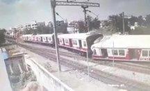 Trenin çarpışma anı