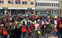 Cezaevlerinde bulunan 864 bebek için bisiklet turu