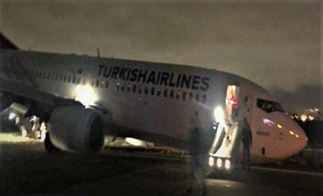 THY yolcuları facianın eşiğinden döndü