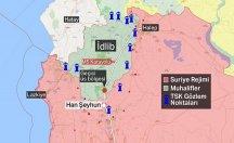 Rus uçakları TSK konvoyunu bombaladı