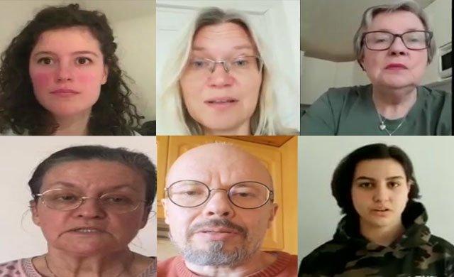 """""""Türkiye'deki siyasi mahkûmları serbest bırakın!"""""""