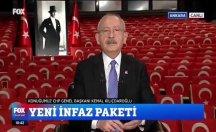 Kılıçdaroğlu'ndan infaz yasası eleştirisi: Yolsuzluk yapan çıkacak, yazı yazan içerde yatacak