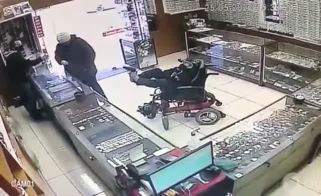 İlginç soygun girişimi