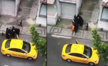 Doğum yapan kadını taksiden attı!