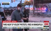 ABD polisi CNN muhabirini böyle gözaltına aldı