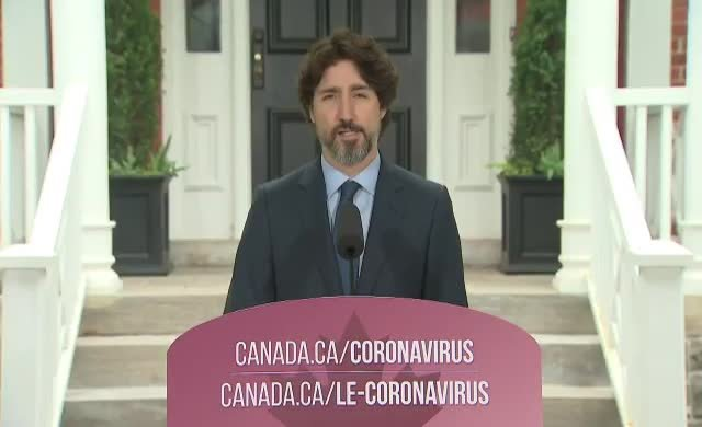 Trump sorusu karşısında Trudeau'nun 'dili tutuldu