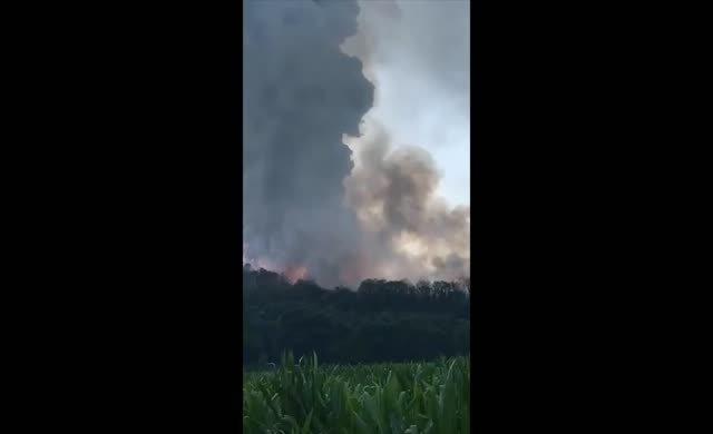 İşte patlamanın dehşet görüntüleri!