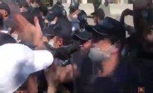 Baro başkanları ve avukatlara polis şiddeti