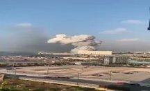 Beyrut'ta peş peşe iki şiddetli patlama!