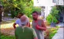 Şarkıcı Halil Sezai'nin yaşlı adamı dövdüğü görüntüler ortaya çıktı