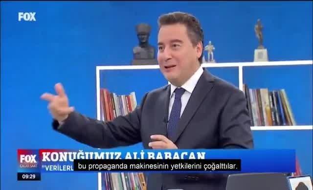 Ali Babacan bombaladı