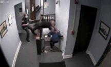 Hapis cezasını duyunca mahkemeden bakın nasıl kaçtı!