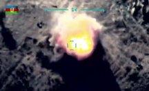 Azerbaycan vurulan hedeflerin görüntülerini yayınladı