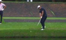 Golf tarihine geçecek atış