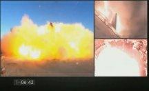 SpaceX'in Mars roketi test aşamasında patladı