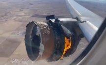 Boeing 777'nin motoru alev aldı, aynı model uçaklar dünya çapında yere indirildi