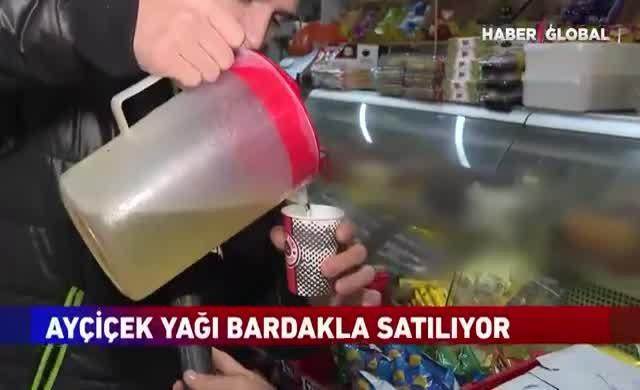 İstanbul'un göbeği: Yağ bardakla, bebek bezi taneyle satılıyor