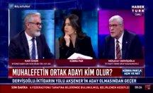 Hadi Özışık 'ben gazeteciyim' deyince İYİ Partili Dervişoğlu kahkaha attı