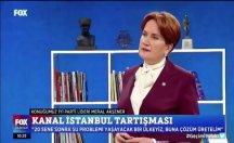 Akşener: İtalya Başbakanı'nın Sayın Erdoğan'a posta koymasına müsaade etmeyiz