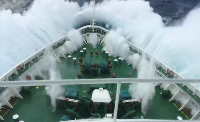 Fırtınadaki Gemi