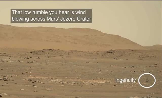 NASA yayınladı: İşte Mars'taki helikopter uçuşunun ses kaydı