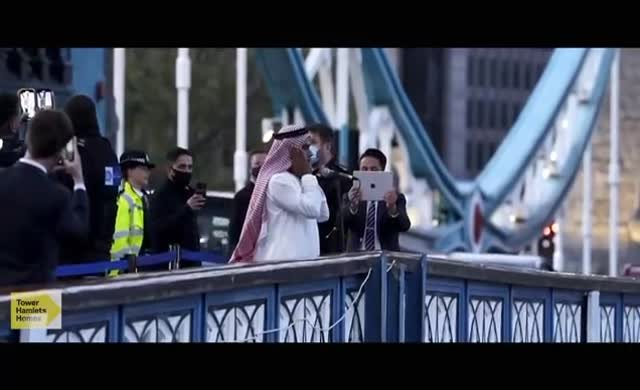 Tower Bridge'de Ezan-ı Muhammedi yükseldi